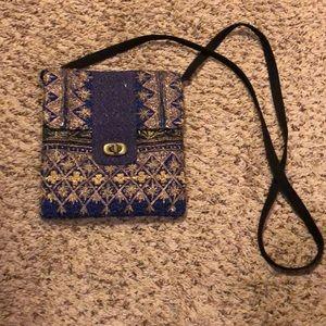 Handbags - NWOT!! Handmade boutique cross body purse